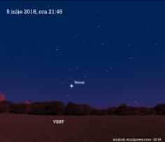Venus pe 5 iulie