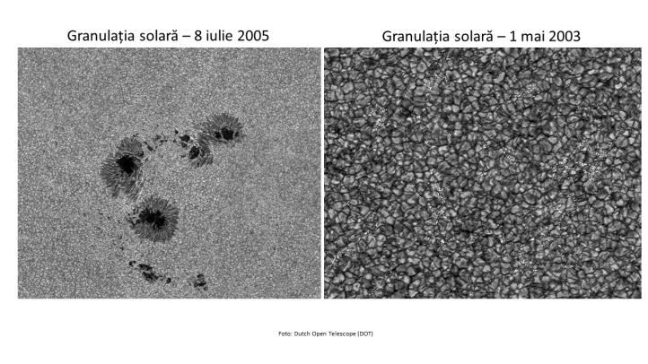Granulația solară cu Dutch Solar Telescope
